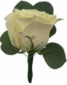B15-15 Standard Rose Boutonniere