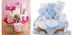 Baby Basket for Girl or boy Gift basket in Newmarket, ON | FLOWERS 'N THINGS FLOWER & GIFT SHOP