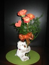 Baby Bear Hug Keepsake Flower Arrangement