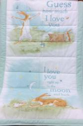 Baby blanket Verse on blocks