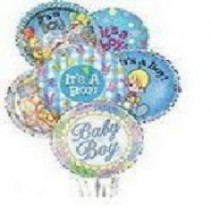 Baby Boy Balloons Balloon Bouquet