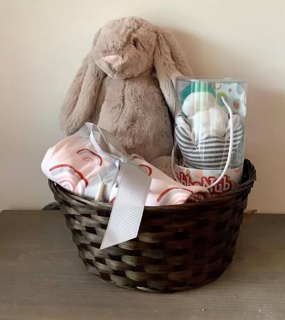 Baby Girl  Bundler Gift Basket