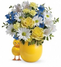 Baby Boy Chickie Baby Bouquet