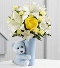 Baby Boy Hug Bouquet
