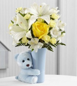 Baby Boy Hug Bouquet