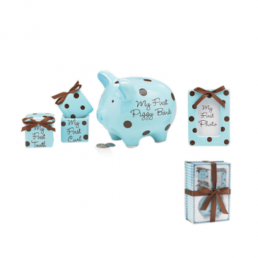 Baby Boy Keepsake Gift Set  Baby Boy Keepsake Gift Set