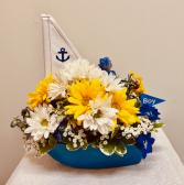 Baby Boy Sail Boat