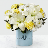 Baby Boy Tiny Miracle Bouquet