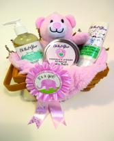 Baby Boy/Girl Gift Basket (Small)
