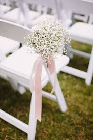 Baby Breath Chair Decoration