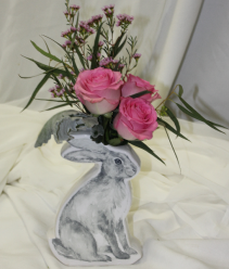 Baby Bunny Fresh Floral Design