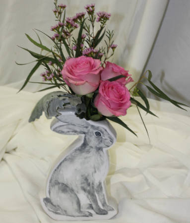 Baby Bunny Fresh Floral Design