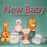 Baby Containers Vessels