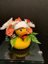 Baby Duck for a Newcomer Fresh Flowers