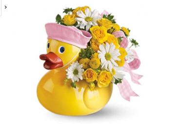 Baby ducky girl Keepsake