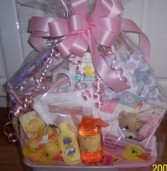 Newborn Baby Essentials Basket Baby Gift Basket