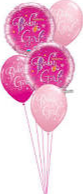 Baby Girl Balloon Bouquet Balloon Bouquet