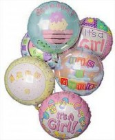 Baby Girl Balloon Bouquet Balloons