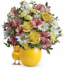 Baby Girl Chickie Baby Bouquet