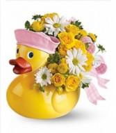 Baby Girl Ducky Arrangement Baby
