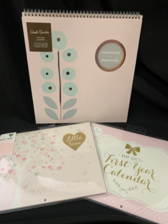 Baby Girl First Year Calendars