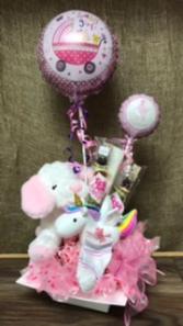 Baby girl gift set Baby girl