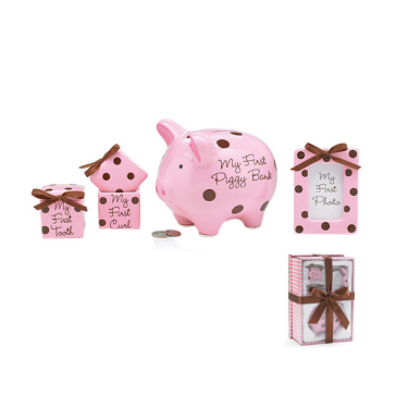 Baby Girl Keepsake Gift Set   Baby Girl Keepsake Gift Set