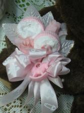 Baby Girl Mesh Wreath Buds 'n Bows Mesh Wreath