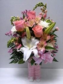 Baby Girl Overalls New Baby flowers