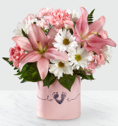 Baby Girl Tiny Miracle Bouquet