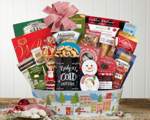 Baby It's Cold Outside Christmas Hamper in Delta, BC | FLOWERS BEAUTIFUL