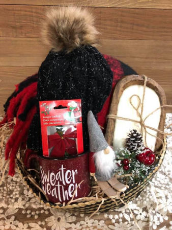 Baby it's Cold Outside Gift Basket