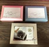 Baby keepsake boxes Personalized engravable gift
