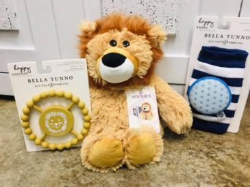 Baby Lion Gift Set!