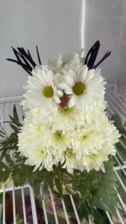 Baby Owl  Shaped flower arrangement