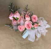Baby Roses Corsage Prom