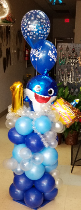 Baby Shark  Balloon Bouquet