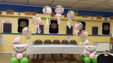 Baby Shower Balloon Arch Balloons
