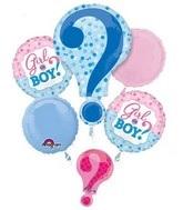 Baby Shower Balloon Bouquet WFB 109