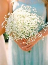 Wedding* Baby's Breath  Blossoms Bouquets
