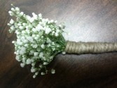 Wedding* Baby's Breath W/ Jute  Flowers to Wear