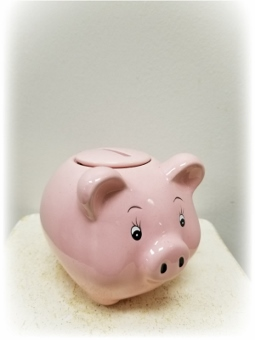 Baby's First Piggy Bank Girl Add on Item