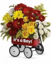 Baby's First Wagon Arrangement
