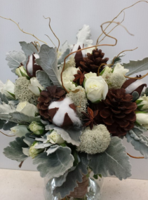 Back To Nature Bridal Bouquet - Handtied