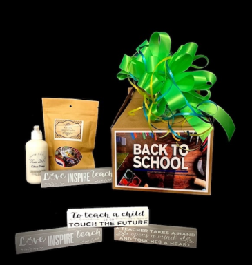 Back to School 2021 Country Candies, Luxury Lotion & Teacher Inspirational Sign