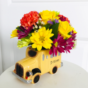 Back to School BUS!!!  in Whittier, CA | Rosemantico Flowers