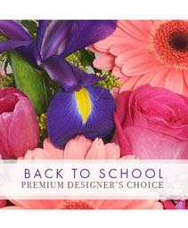 Back to School Bouquet Premium Designer's Choice
