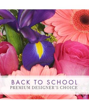 Back to School Bouquet Premium Designer's Choice in Saugerties, NY | THE FLOWER GARDEN