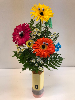 Back to School! Floral Arrangement in Webster, TX |  La Mariposa Flowers