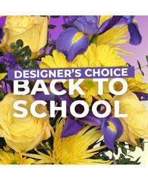 Back to School Florals Designer's Choice